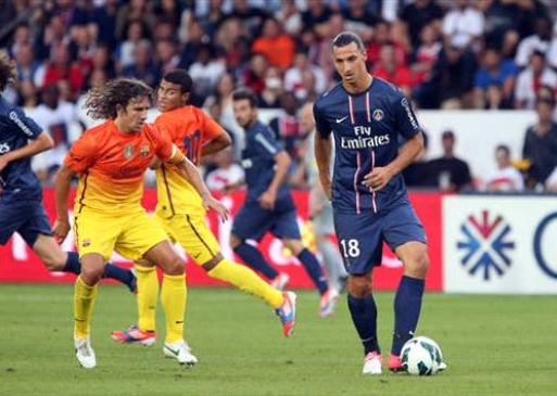 FC Barcelona – Paris Saint- Germain (Football. Champions League)